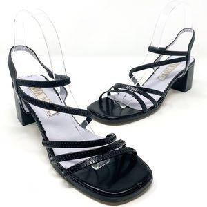 Vintage | Square toe strappy sandals 8